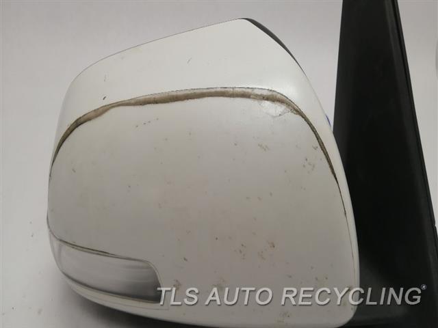 2010 Toyota 4 Runner Side View Mirror STICKER PEELING RH,WHT,PM,POWER, PUDDLE LAMP, R.
