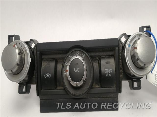 2010 Toyota 4 Runner Temp Control Unit   MANUAL TEMPERATURE CONTROL, SR5