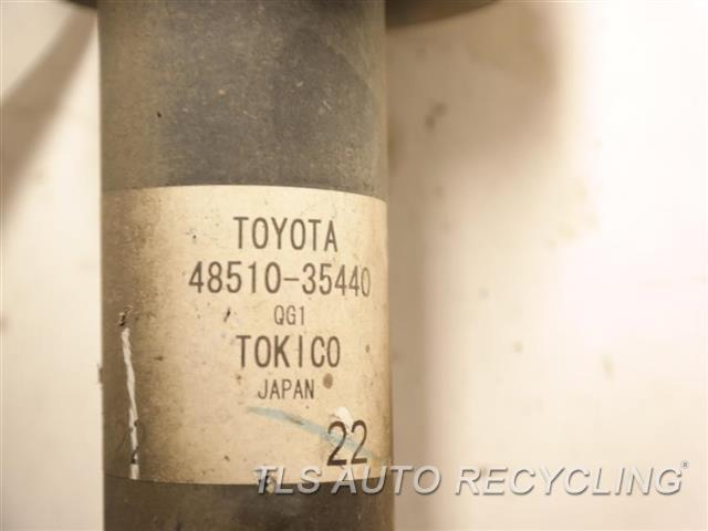 2016 Toyota 4 Runner Strut  FRONT,4.0L, 1GRFE ENGINE, 6 CYLIN