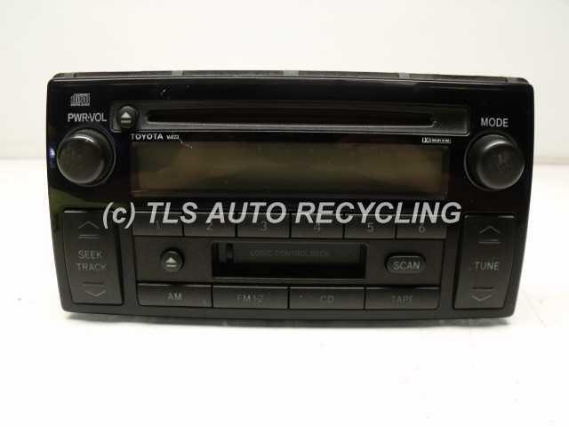 2002 toyota camry radio audio amp 81620 aa040 used. Black Bedroom Furniture Sets. Home Design Ideas