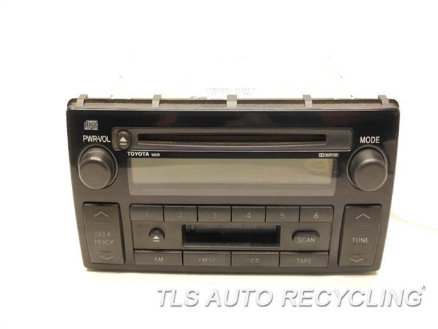 2002 toyota camry radio audio amp 86120 aa070 used. Black Bedroom Furniture Sets. Home Design Ideas