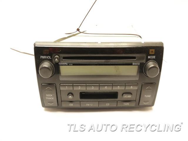 2002 toyota camry radio audio amp 86120 0506806 used. Black Bedroom Furniture Sets. Home Design Ideas