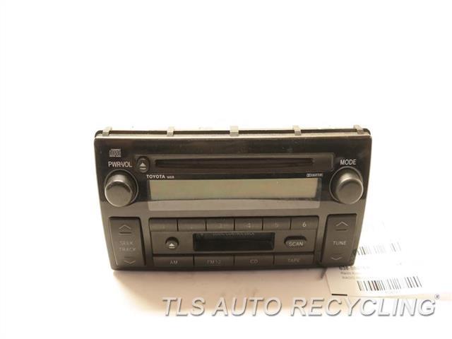 2002 toyota camry radio audio amp 86120 aa070radio. Black Bedroom Furniture Sets. Home Design Ideas