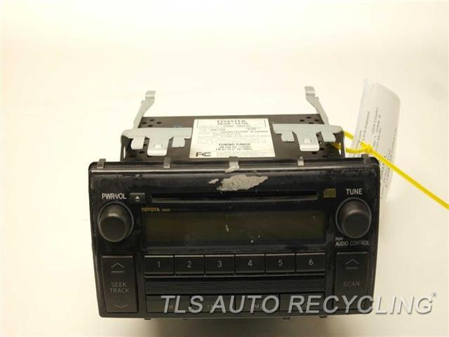 2006 toyota camry radio audio amp 86120 aa160. Black Bedroom Furniture Sets. Home Design Ideas