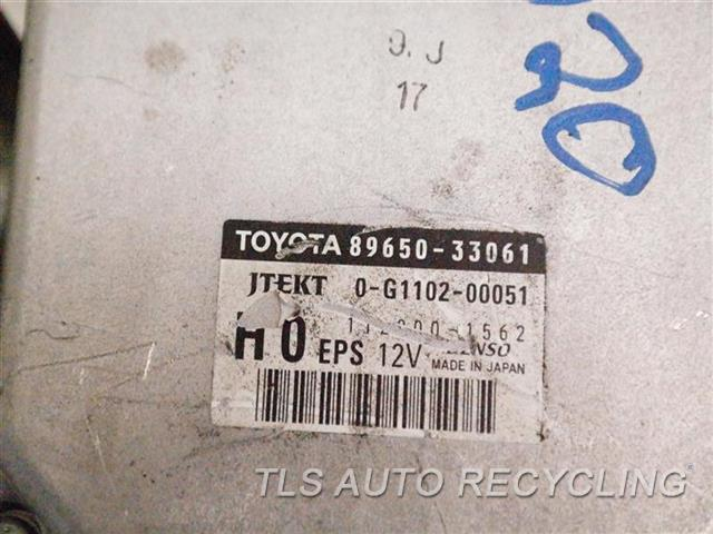 2008 Toyota Camry Chassis Cont Mod 89650-33061 89650-33061 STEERING MODULE