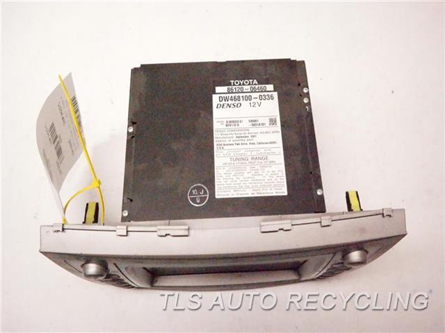 2008 Toyota Camry Navigation Gps Screen 86120-06460 (DISPLAY SCREEN), NAVIGATION, VIN B