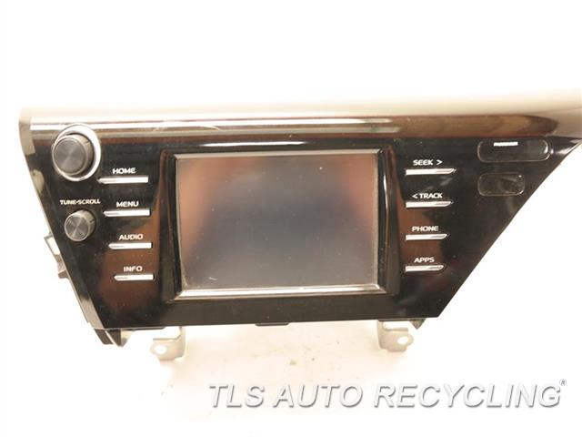 Genuine OEM Toyota Camry recycled Auto parts - 2018 radio audio / amp  online  TLS Auto Recycling