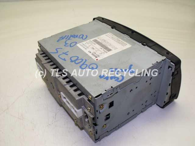 toyota_corolla_2003_radio_audio_4667_02 2003 toyota corolla radio audio amp 86120 02270 used a grade  at crackthecode.co