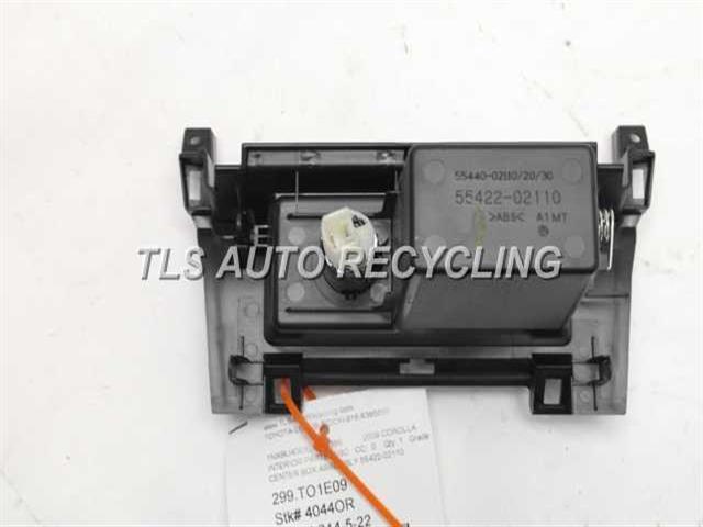 2009 Toyota Corolla Interior Parts Misc 55440 02110