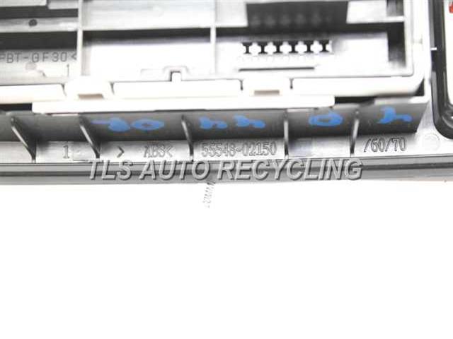 2009 Toyota Corolla Interior Parts Misc 55548 02150 Used A Grade