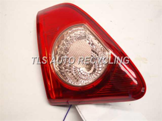 2009 Toyota Corolla Tail Lamp