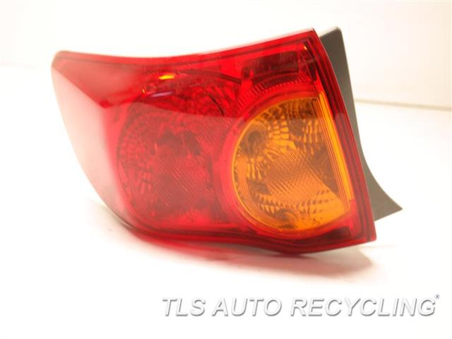2010 Toyota Corolla Tail Lamp  LH,DECKLID MOUNTED, L.