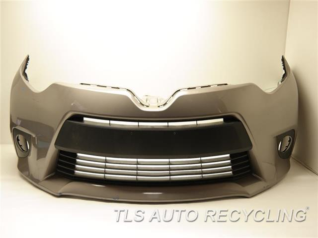 2014 toyota corolla bumper cover front light scratches on bottom edge repaint one damaged. Black Bedroom Furniture Sets. Home Design Ideas