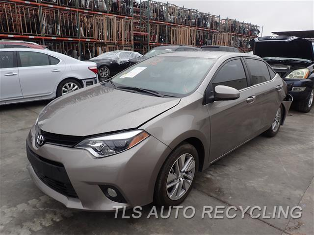 2014 Toyota Corolla Parts Stock# 6352GR