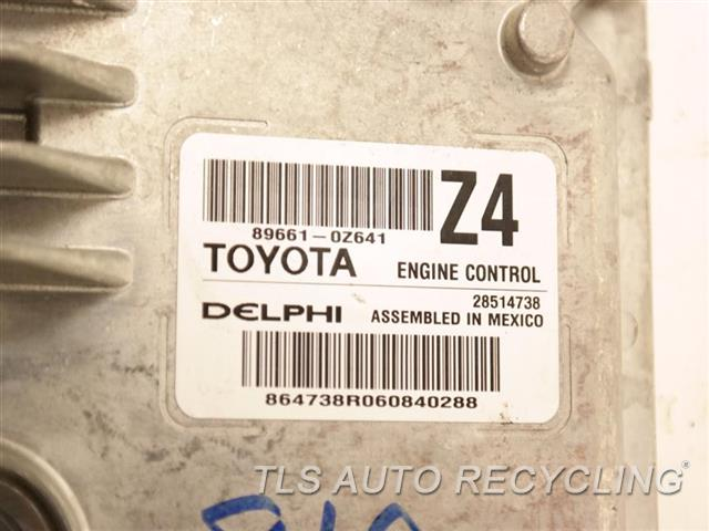 2016 Toyota Corolla Eng/motor Cont Mod  89661-0Z641 ENGINE CONTROL COMPUTER