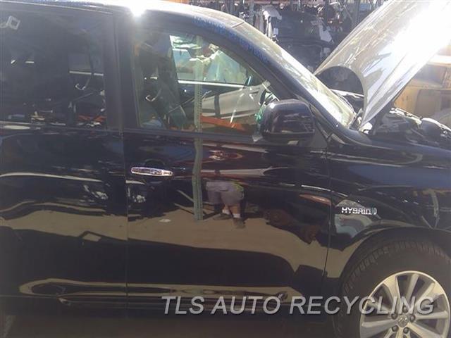 2009 Toyota Highlander Door Assembly, Front MINOR DING UNDER DOOR HANDLESCRATVHES BOTTOM SECTION 7S1,RH,BLK