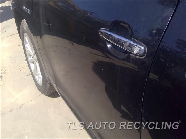 2009 Toyota Highlander Door Assembly, Front SCRATCHES ALL OVER 5D1,5S1,LH,BLK