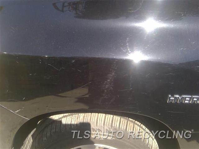 2009 Toyota Highlander Fender SCRATCHES FRONT SECTION,MINOR SCRATCHES ALL OVER 6S1,LH,BLK