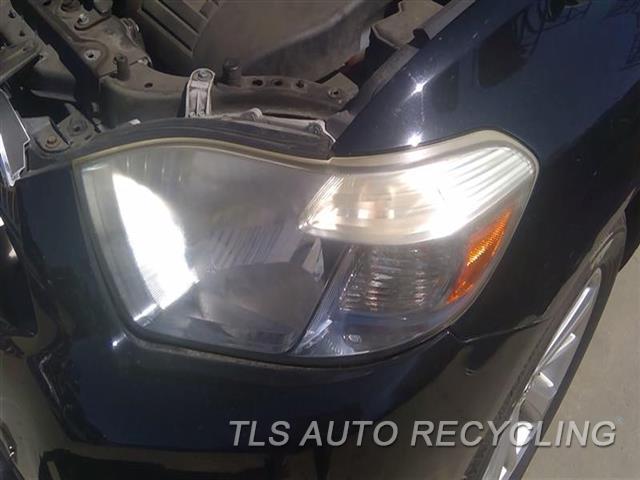 2009 Toyota Highlander Headlamp Assembly NEEDS BUFF LH,L., VIN W (5TH DIGIT, HYBRID)