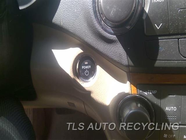 2009 Toyota Highlander Ignition Switch  KEYLESS IGNITION (SMART KEY), 3.3L