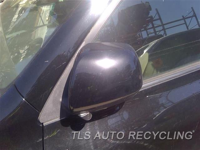 2009 Toyota Highlander Side View Mirror  LH,BLK,POWER, (FOLDING), L., PUDDLE
