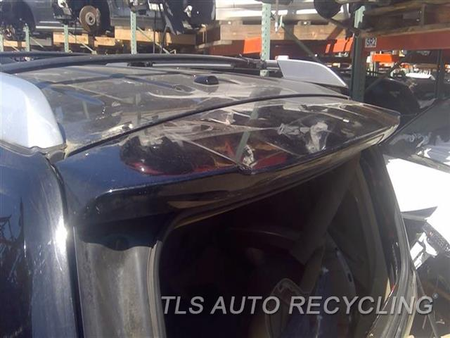 2009 Toyota Highlander Spoiler, Rear  BLK,HIGH MOUNTED STOP LAMP