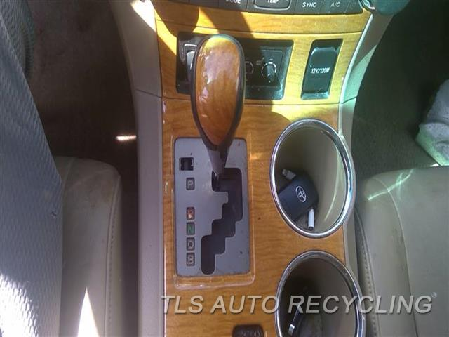 2009 Toyota Highlander Transmission Shifter  SHIFTER