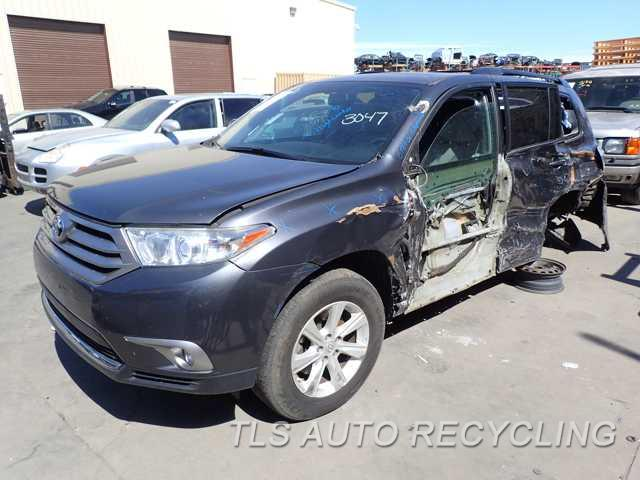 parting out 2013 toyota highlander stock 6187bl tls auto recycling rh tlsautorecycling com 2004 Toyota Highlander White 2004 Toyota Highlander White