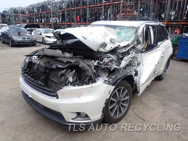 2014 Toyota Highlander Parts Stock# 8145BK