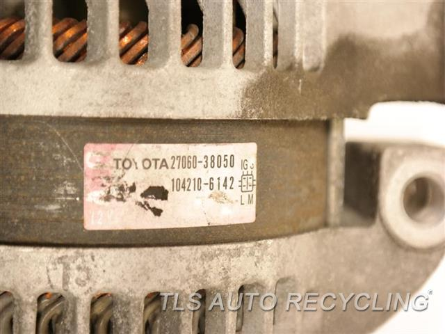 2014 Toyota Land Cruiser Alternator  ALTERNATOR (180 AMP)