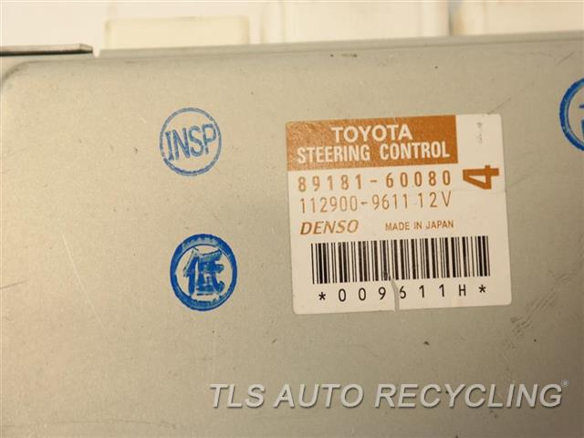 2014 Toyota Land Cruiser Chassis Cont Mod  89181-60080 STEERING CONTROL COMP.