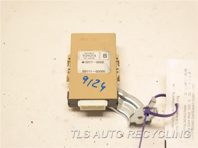 2014 Toyota Land Cruiser Chassis Cont Mod  89111-60080 GATEWAY COMPUTER