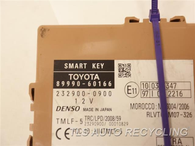 2014 Toyota Land Cruiser Chassis Cont Mod  89990-60166 SMART KEY MODULE