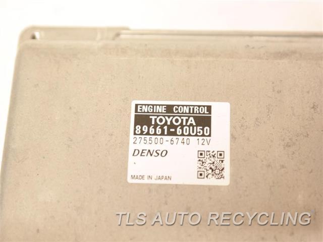 2014 Toyota Land Cruiser Eng/motor Cont Mod  89661-60U50 ENGINE CONTROL COMPUTER