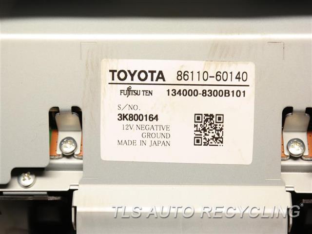 2014 Toyota Land Cruiser Navigation Gps Screen 86110-60140 (DISPLAY SCREEN), DASH MOUNTED (8