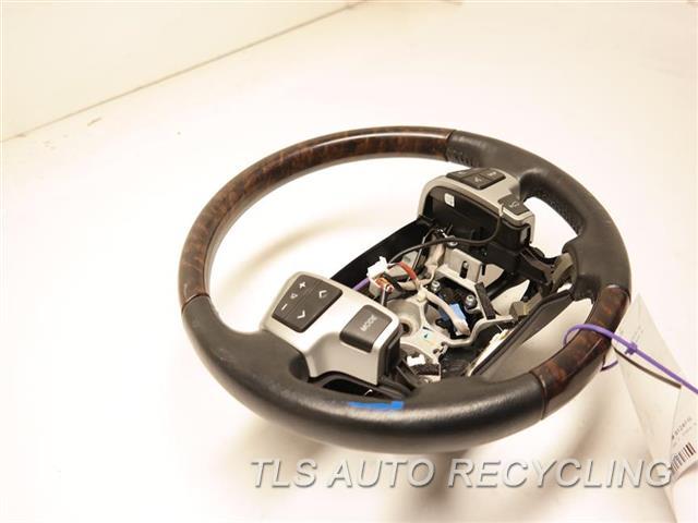 2014 Toyota Land Cruiser Steering Wheel  BLACK LEATHER/WOOD STEERING WHEEL