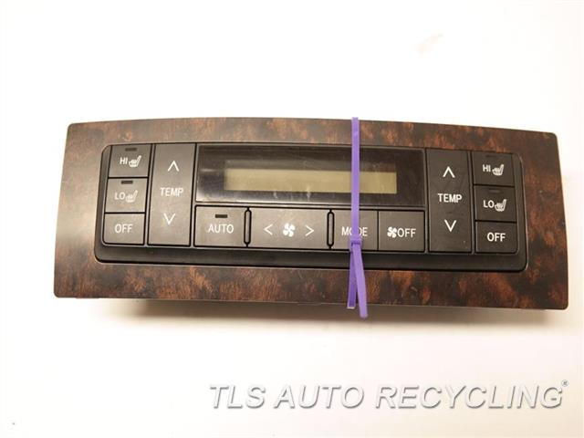 2014 Toyota Land Cruiser Temp Control Unit (HEATED REAR SEATS) 55900-60M10 REAR TEMPERATURE CONTROL
