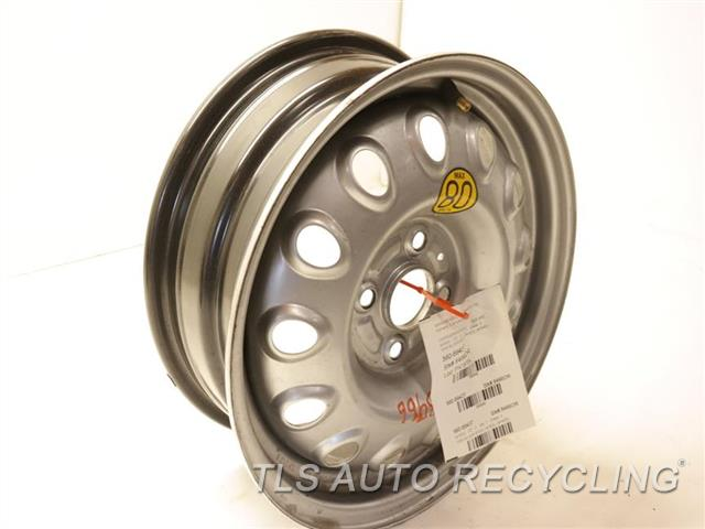 2003 Toyota Mr 2 Wheel  15X6 SILVER STEEL WHEEL (SPARE)