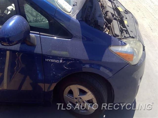 2010 Toyota Prius Fender DENT AND SCRATCHES FRONT SECTION 1D1,1S1,RH,BLU