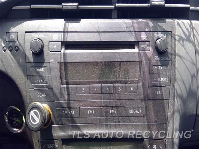 2010 Toyota Prius Radio Audio / Amp  RECEIVER, AM-FM-CD, W/O NAVIGATION
