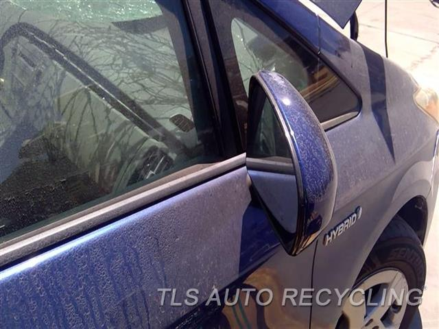 2010 Toyota Prius Side View Mirror SUN DAMAGE BACK COVER RH,BLU,POWER, R.