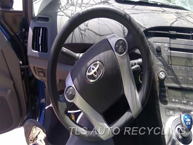 2010 Toyota Prius Steering Wheel  BLK,LEA