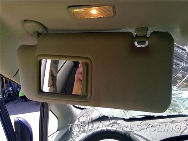 2010 Toyota Prius Sun Visor/shade  LH,GRY,(ILLUMINATED), L.