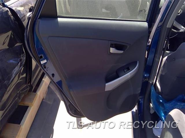 2010 Toyota Prius Trim Panel, Rr Dr  LH,GRY