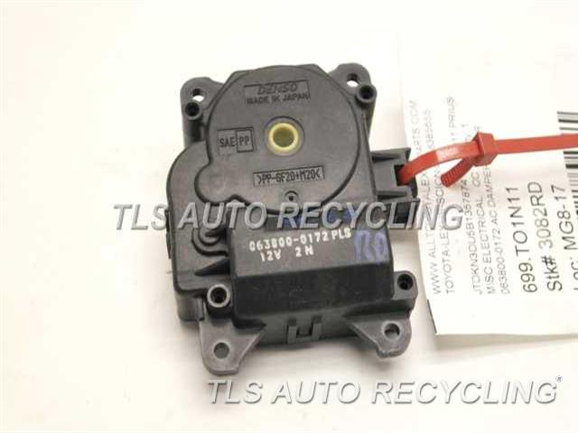 2011 Toyota Prius Misc Electrical 063800 0172 Used A