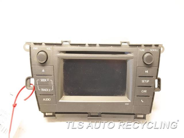 2013 toyota prius radio audio amp receiver am fm cd. Black Bedroom Furniture Sets. Home Design Ideas
