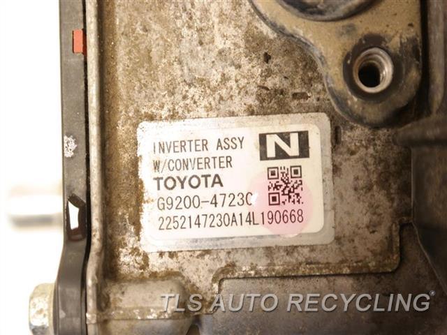 2015 Toyota Prius Hybrid Inverter G9200-47230 PRIUS (VIN DU, 7TH AND 8TH DIGIT),