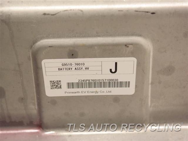 2012 Toyota Prius V Battery  HYBRID BATTERY, PRIUS V G9510-76010