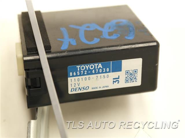 2012 Toyota Prius V Chassis Cont Mod SOUND CONTROL, VEHICLE APPROACHING SPEAKER CONTROL 86572-47030 DRIVER ASSIST ALERT