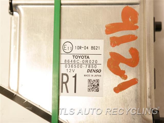 2017 Toyota Rav 4 Camera 8646C-0R020 FRONT, CAMERA, LANE DEPARTURE